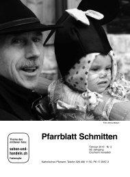 Pfarrblatt Nr. 02 - Pfarrei Schmitten