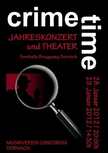 JAHRESKONZERT und THEATER - Musikverein Concordia Dornach
