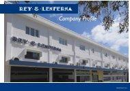 Company Profile - Rey & Lenferna Ltd