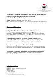 Pressemappe - Deutsche Schlaganfall-Gesellschaft