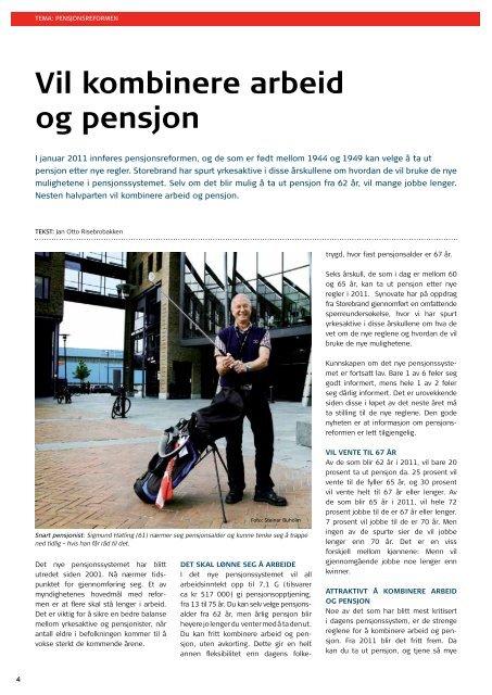 Bedrift & pensjon - Storebrand