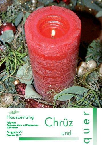 Hauszeitung - FELDHEIM