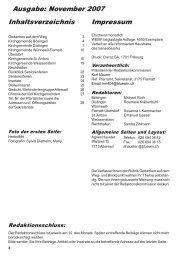 November 2007 - Kirchgemeinde Wünnewil Flamatt Überstorf