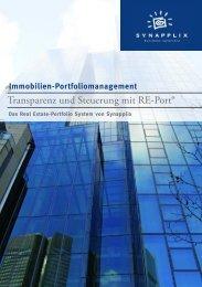 Broschüre RE-Port.pdf - Synapplix GmbH