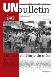 UNbulletin 5-6/2007 - Informační centrum OSN v Praze