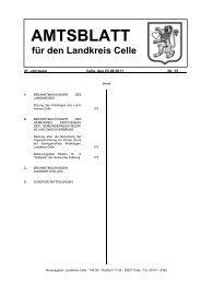 Amtsblatt 15-2011 - Landkreis Celle