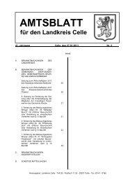 Amtsblatt 02-2011 - Landkreis Celle