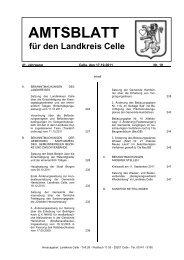 Wappen des Landkreises Celle - Landkreis Celle