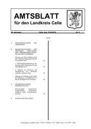 Amtsblatt 06-2010 - Landkreis Celle