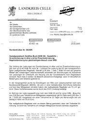 Regelsatzkürzung bei gleichzeitigem Besuch ... - Landkreis Celle