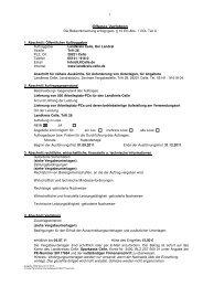 Offenes Verfahren - Landkreis Celle
