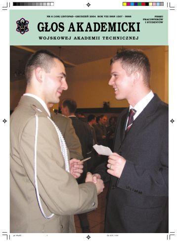 G£OS AKADEMICKI - Wojskowa Akademia Techniczna