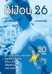 BiJou 26 - BiNe Bisexuelles Netzwerk eV