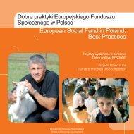 European Social Fund in Poland: Best Practices - Europejski ...
