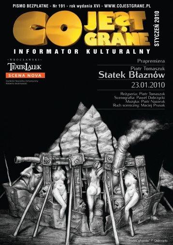 styczeń 2010 - Warszawa