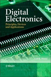 Digital Electronics: Principles, Devices and Applications - ComputerJU