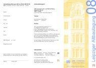 Anmeldung bitte per FAX an 0341/590 85 - Leipziger-altbautagung.de