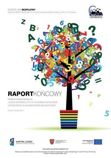 Raport końcowy z badania ewaluacyjnego pn ... - EFS - Poznań