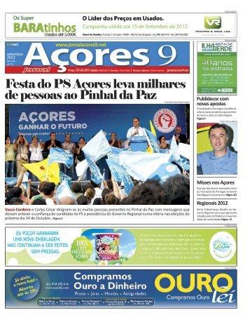 Edição impressa Clique aqui para fazer download da - Açores 9