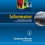 pobierz plik (*pdf) - Rekrutacja - Akademia Morska w Szczecinie