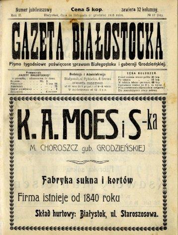 Page 1 Page 2 Str. 723. GAZÈJTA BIALOSTOCRA. Towarzystwo ...
