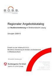 Angebotskatalog Studienorientierung in Leipzig - Herzlich ...