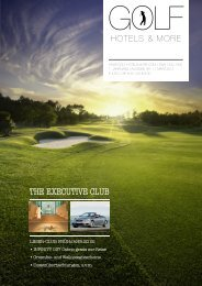 GOLF HOTELS & MORE