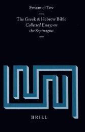 Collected Essays on the Septuagint