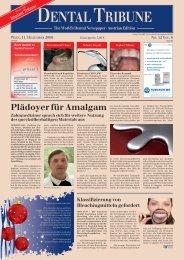 Industry Report DENTALTRIBUNE Austrian Edition