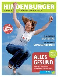 CARE - Hindenburger Stadtzeitschrift für Mönchengladbach und ...