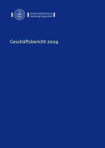 UKE Geschäftsbericht 4uk - Universitätsklinikum Hamburg-Eppendorf