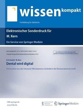 Dental wird digital - Arbeitsgemeinschaft Keramik