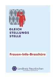 Fraueninfobroschuere.2010.web - Landkreis Neunkirchen