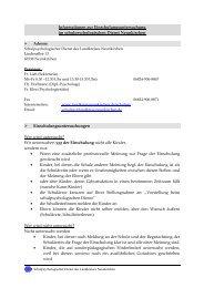 Informationen zur Einschulungsuntersuchung im ...