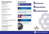 Senioren- Sicherheits- BeraterInnen - Neunkirchen
