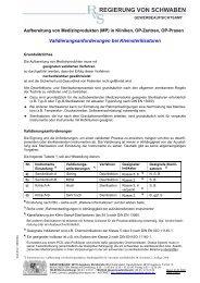 Validierungsanforderungen bei Kleinsterilisatoren - Regierung von ...