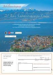 20 Jahre Schönheitschirurgie Lindau - Internationalen Gesellschaft ...