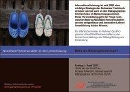 Flyer der Veranstaltung - Stiftung Bildung und Entwicklung