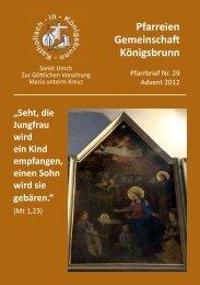 Download pfarrbrief-2012advent-inet.pdf - Katholisch in Königsbrunn