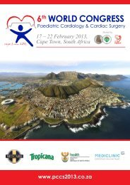 17 – 22 February 2013, Cape Town, South Africa - eventdynamics