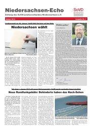 Niedersachsen-Echo - Sozialverband Deutschland e.V. ...