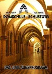 Download des Programmheftes (5,13 MByte) - Domschule Schleswig