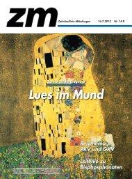 Lues im Mund - Zm-online