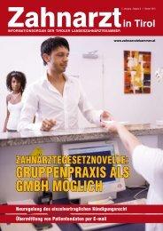 Ausgabe 3/10 - Zahnärztekammer