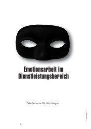 Emotionsarbeit im Dienstleistungsbereich - Wirtschaftspsychologie ...