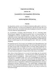 Kooperation des Landkreistages Baden-Württemberg mit der ...