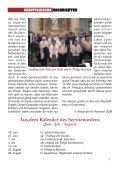 SERVITANISCHE NACHRICHTEN Nr. 2/2011, 37. Jahrgang - Seite 3