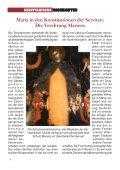 SERVITANISCHE NACHRICHTEN Nr. 2/2011, 37. Jahrgang - Seite 4