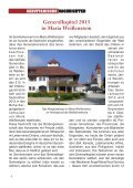 SERVITANISCHE NACHRICHTEN Nr. 2/2011, 37. Jahrgang - Seite 6