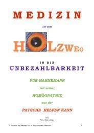 Medizin a. d. Holzweg zum Abschicken - BookRix